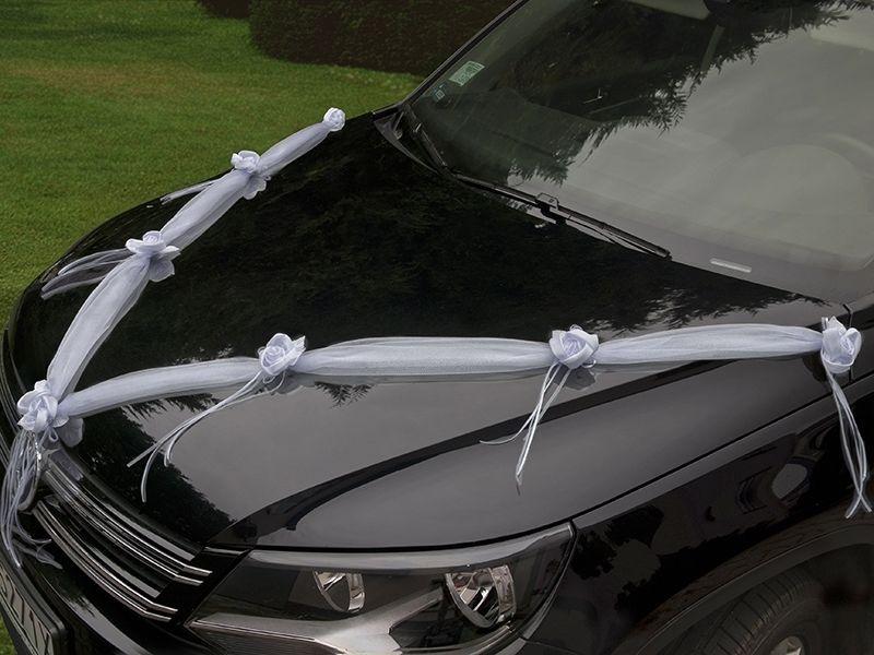 Dekoration Autoschmuck Hochzeit auto Schmuck Autodeko