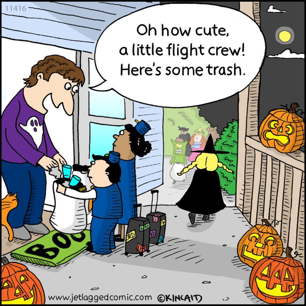 Jetlagged Comic Is A Cartoon For Flight Crews Written And -3038