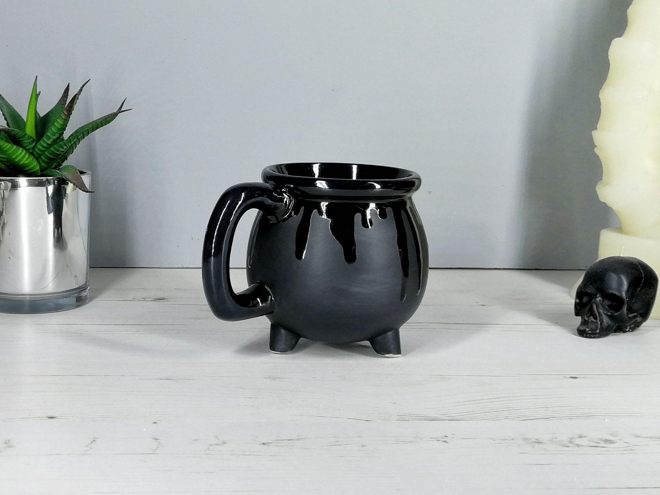 b7360626b708 Matte Black Witches Cauldron Mug — Weird & Wonderful Ceramics | - Ny ...