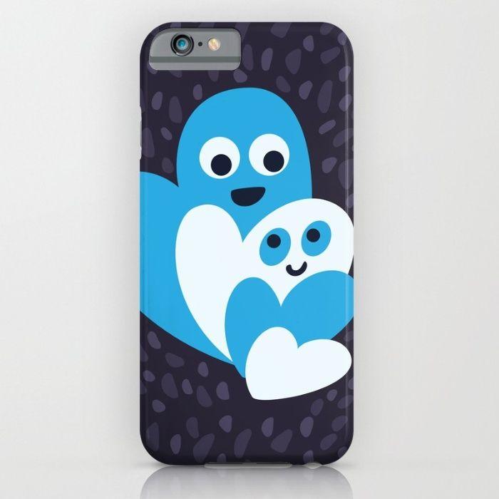 Cute hearts #iPhone case / #Society6https://society6.com/product/happy-hearts-family_iphone-case?curator=borianagiormova#iphonecases