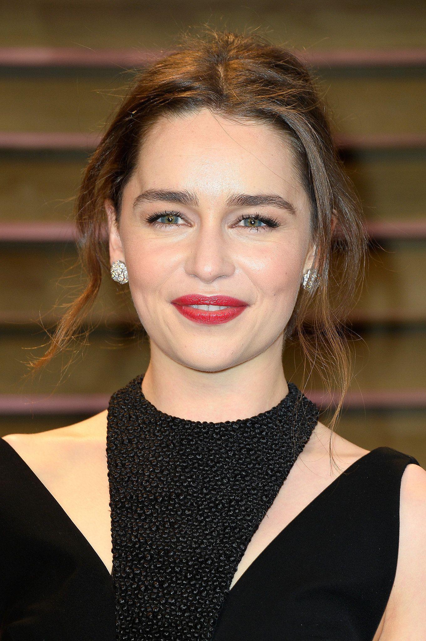 Emilia Clarke at Vanity Fair Party | Emilia clarke, Emilia ...