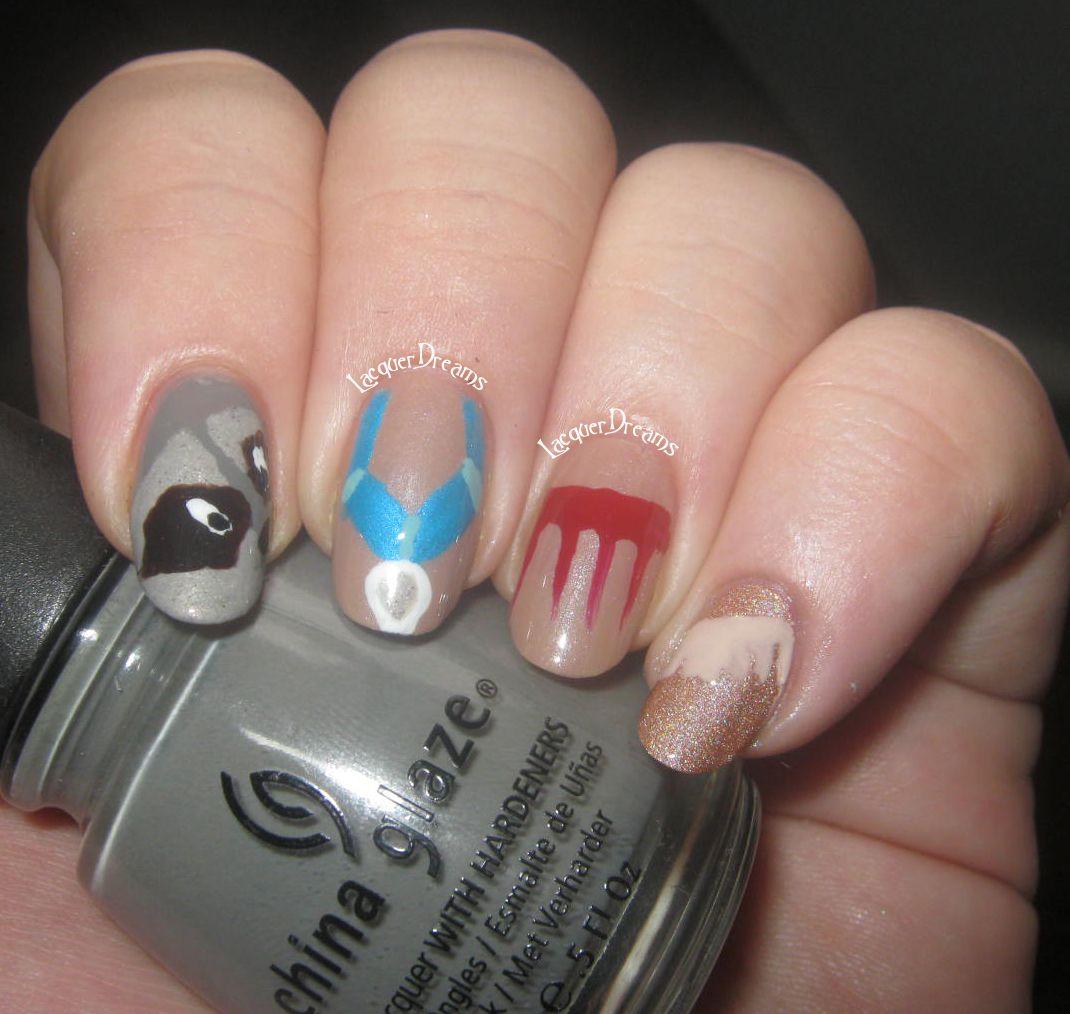 pocahontas nail art. nails