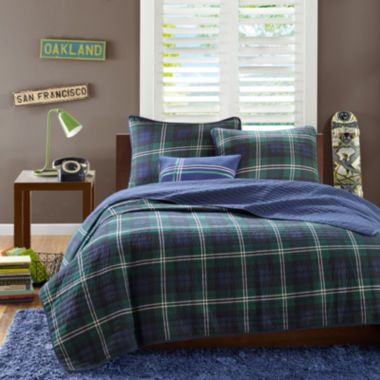 Mi Zone Cameron Plaid Quilt Set  found at @JCPenney