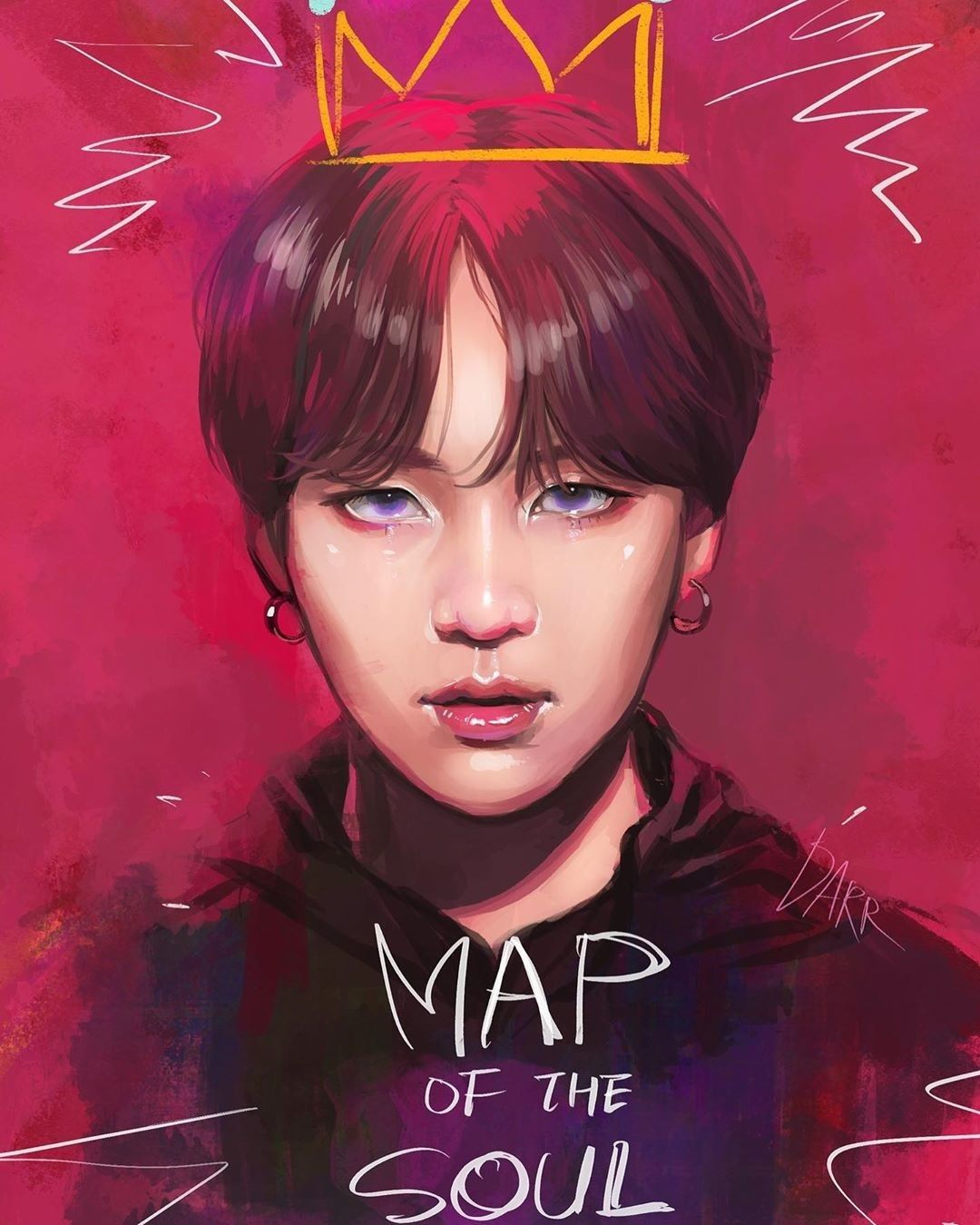 Suga #MAP OF THE SOUL : 7 'Interlude : #Shadow'# Fanart in 2020 ...