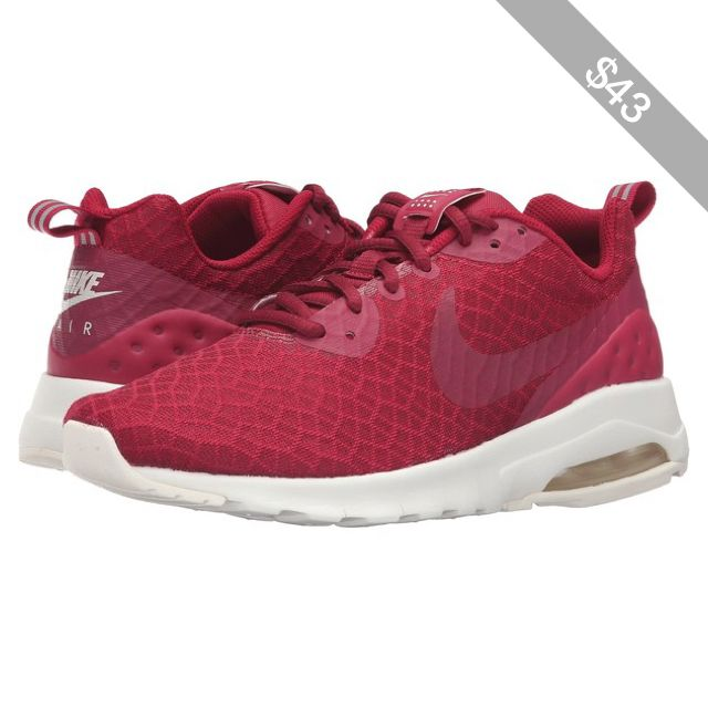 RUNNING NIKE AIR MAX motion Noble Red NOBLE REDSAIL