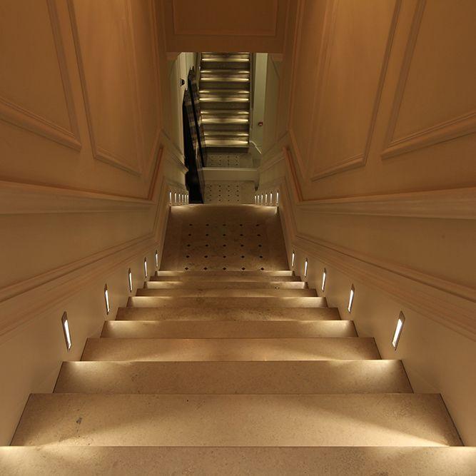 manhattan led steplight john cullen lighting stairs