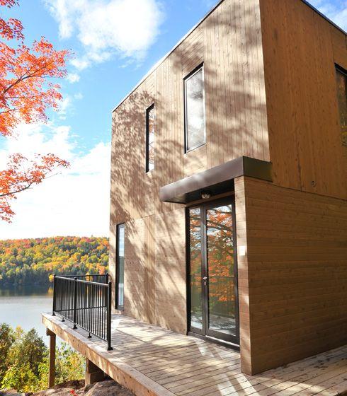 Lac Mitchell - Écohabitations boréales Lac Mitchell - construire une maison ecologique