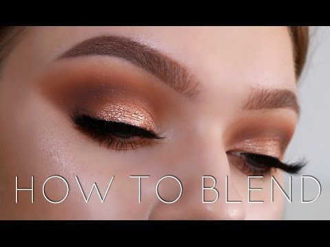 How To Blend Your Eyeshadow Like A Pro