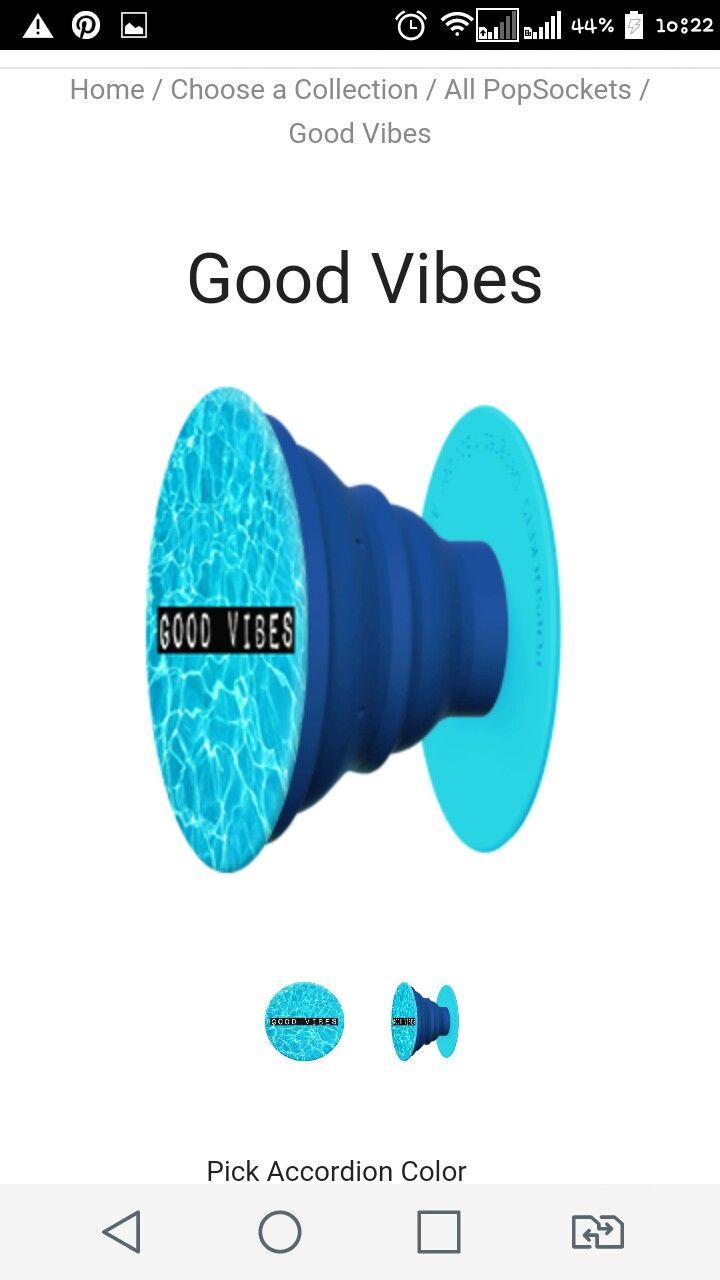 Good vibes popsocket pop sockets iphone popsockets