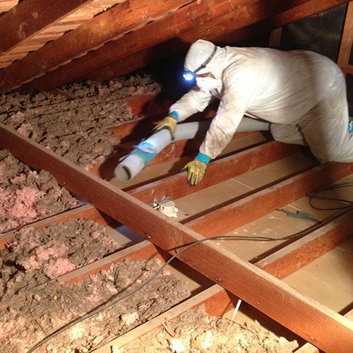 Improve Your Home S Air Quality 855 252 2501 Removing Old Insulation In Your Attic Can Improve The Quality Of Air Quality Attic Flooring Improve Yourself