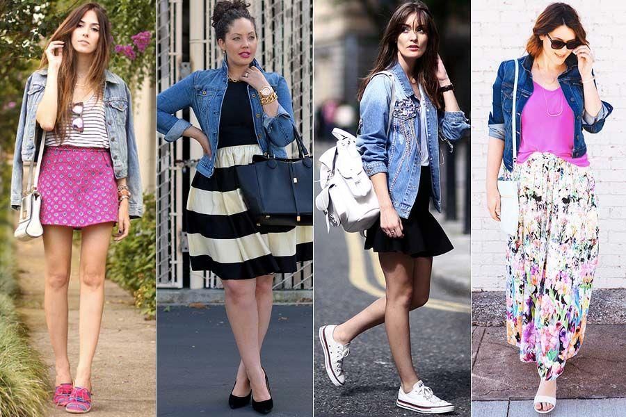 13b68f7bf Como usar  Jaqueta jeans