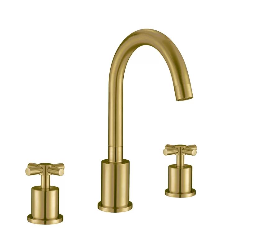 Ancona Prima 3 Widespread Bathroom Faucet Wayfair In 2020 Widespread Bathroom Faucet Bathroom Faucets Faucet