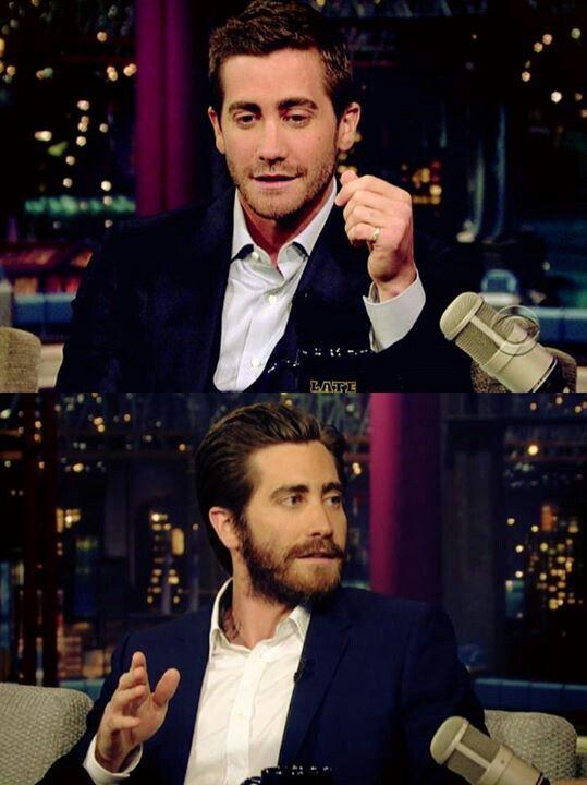 Jake Gyllenhaal at Letterman