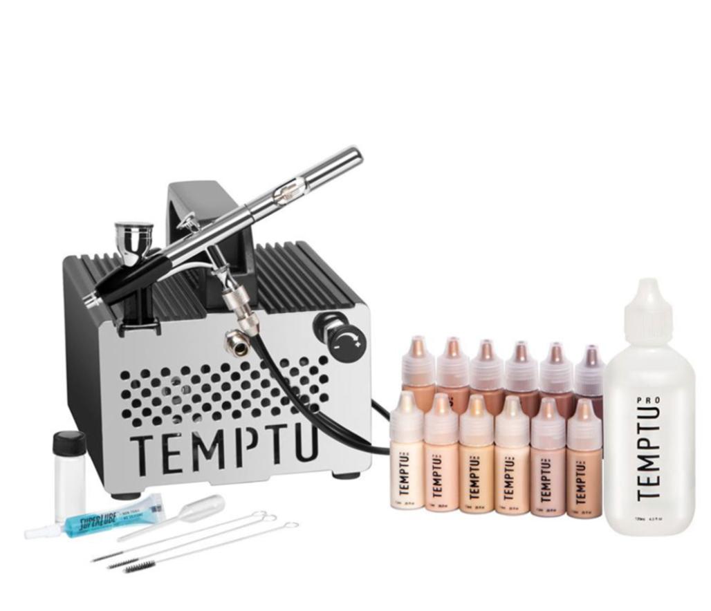 Temptu Airbrush Makeup (With images) Airbrush makeup kit