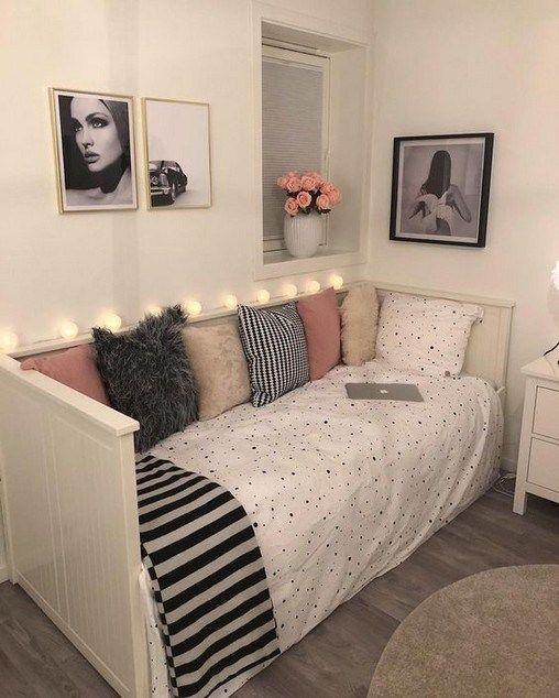 15 Mind Blowing Small Bedroom Storage Ideas For Small Apartments Nothingideas Com Beautiful Dorm Room Dorm Room Decor Bedroom Design