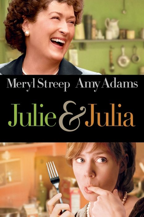 Julie & Julia Movie Poster - Meryl Streep, Amy Adams ...