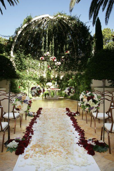 The Wynn Primrose Courtyard Perfect For Ceremony Or Tail Hour