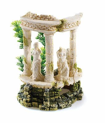 Greek roman themed ancient ruins aquarium ornament fish for Ancient greek decoration ideas