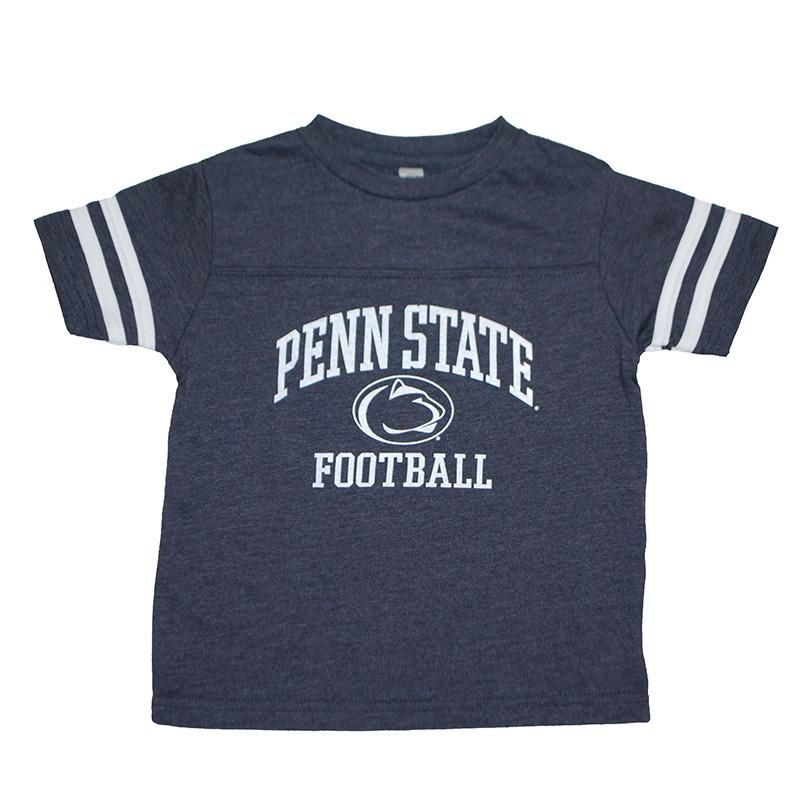 Penn State Toddler Vintage Style Football T-Shirt – Navy / 3T