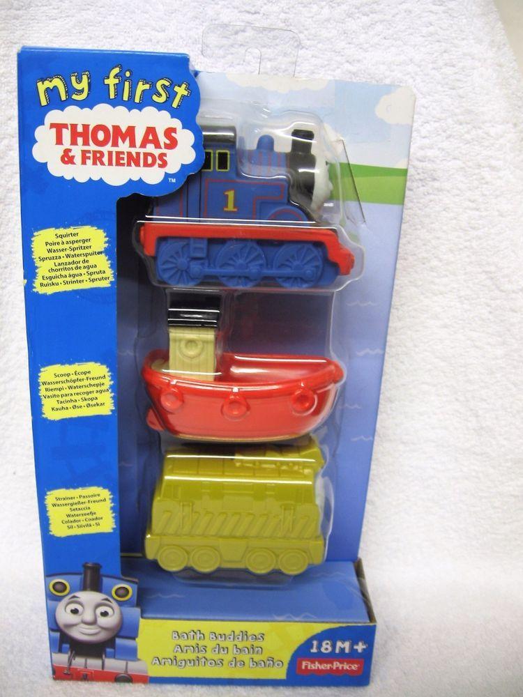 My First Thomas & Friends Bath Buddies Squirter Scoop Strainer ...