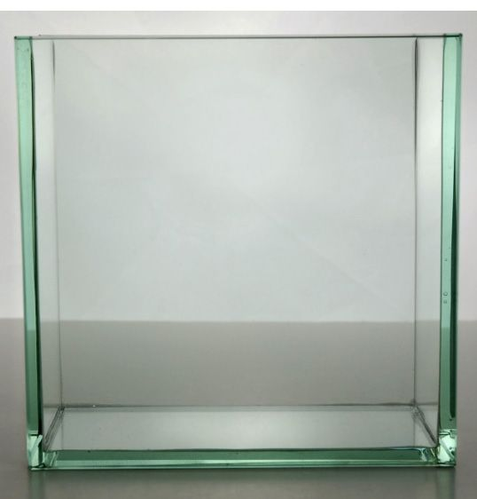 Contemporary Vases 8 Square Thick Glass Theres No Place Like
