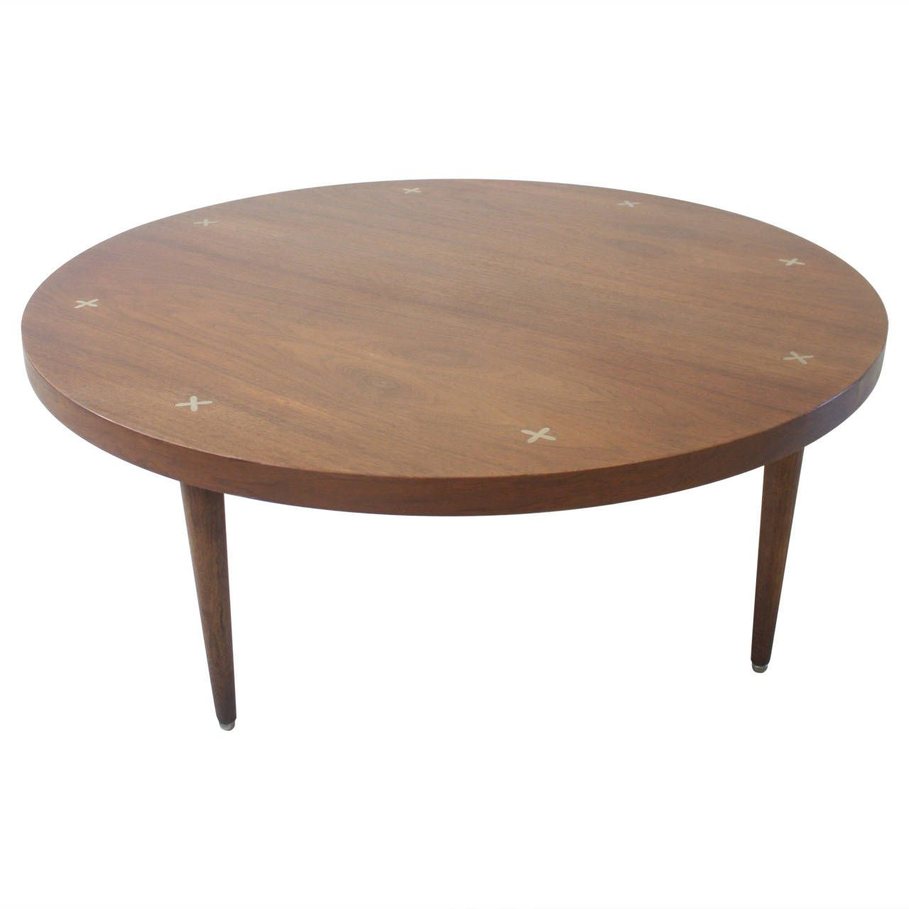 Vintage Walnut Coffee Table By American Of Martinsville From A Unique Collection Antique And Modern Tail Tables At