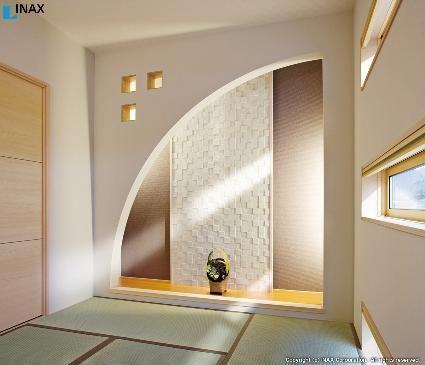 大分のエコカラットとモミの木リフォーム お洒落な快適空間 | ワンルームの家, 和室 モダン 床の間, 和室 おしゃれ モダン