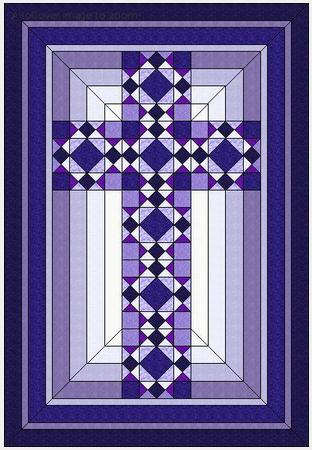 Free Quilt Pattern Christian Cross Quilt Quilt Patterns Quilts Cool Free Cross Quilt Patterns
