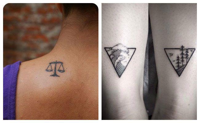 Tatuaje minimalista para parejas Tattoooos Pinterest Mini - tatuajes para parejas