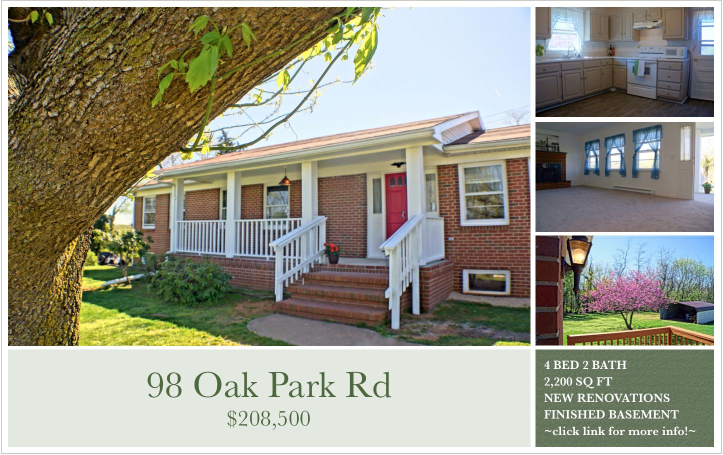 This Well Maintained Brick Home On A Full Basement Is Ready To