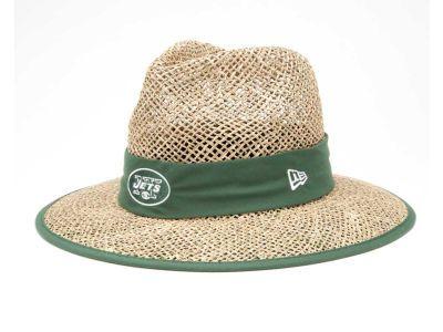 25d1310cb New Era NFL Training Camp Straw Hats | Sports | New york jets, Hats ...