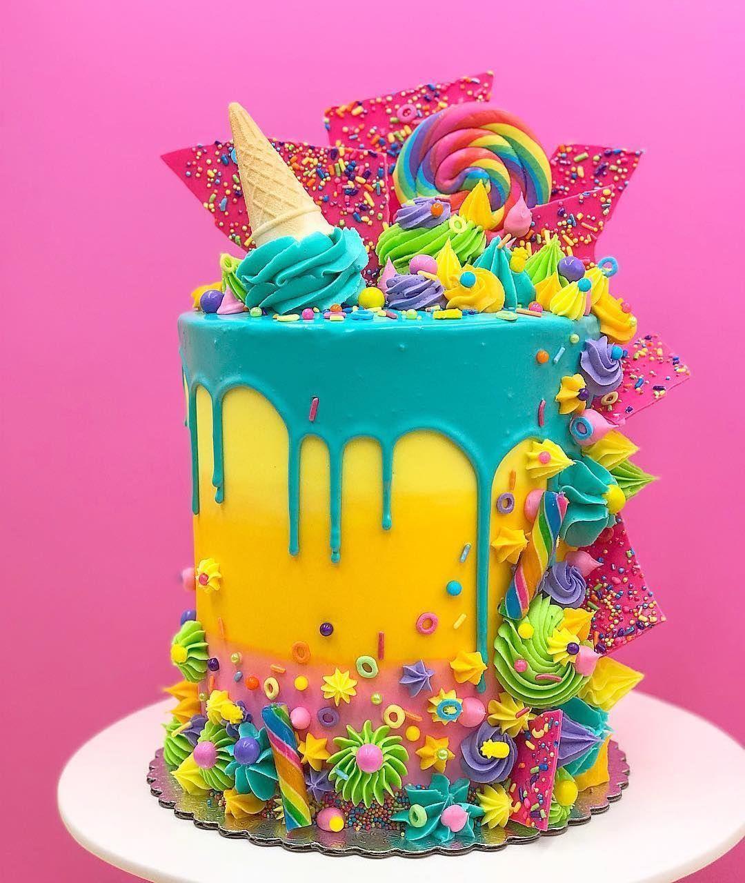 Cake Decorating Classes Houston | Candy birthday cakes, Crazy cakes, Cake decorating classes