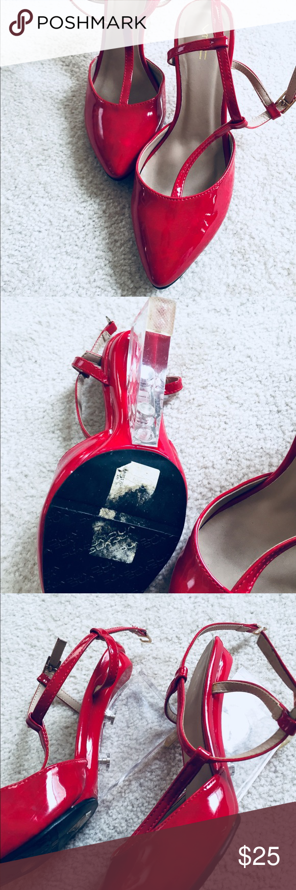 79cf7898b90 Sexy Rose Red Pumps Heels Every girl need her in their closet ! Hot ...