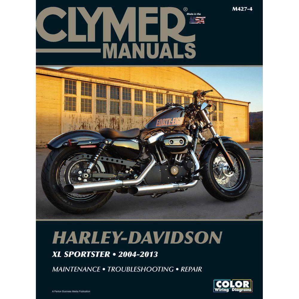 Clymer Harley-Davidson XL883 & XL1200 Sportster (2004-2013)