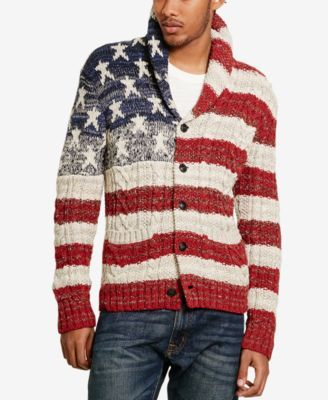 f3d37e40bf9d Denim   Supply Ralph Lauren Men s American Flag Cardigan