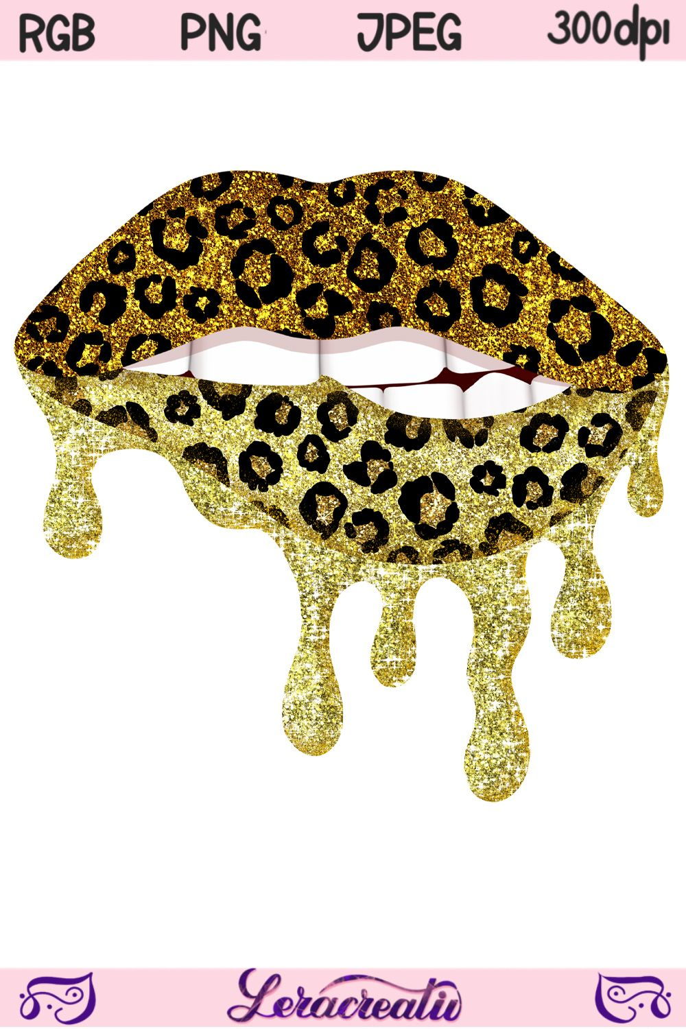 Dripping Lips Leopard Lips Png Valentines Day Png Etsy Black Aesthetic Wallpaper Luxury Brand Logo Colorful Glitter