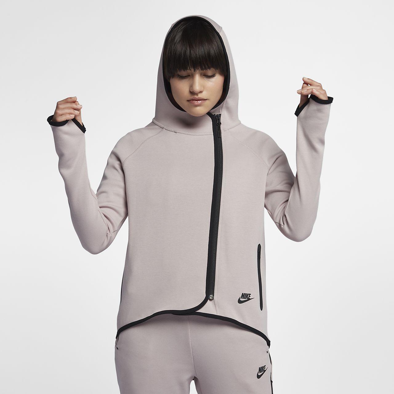 50d37773698 Nike Sportswear Tech Fleece Women s Full-Zip Cape