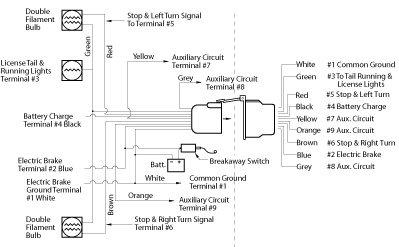Electric Trailer Brake Parts Diagram | Vintage Camper