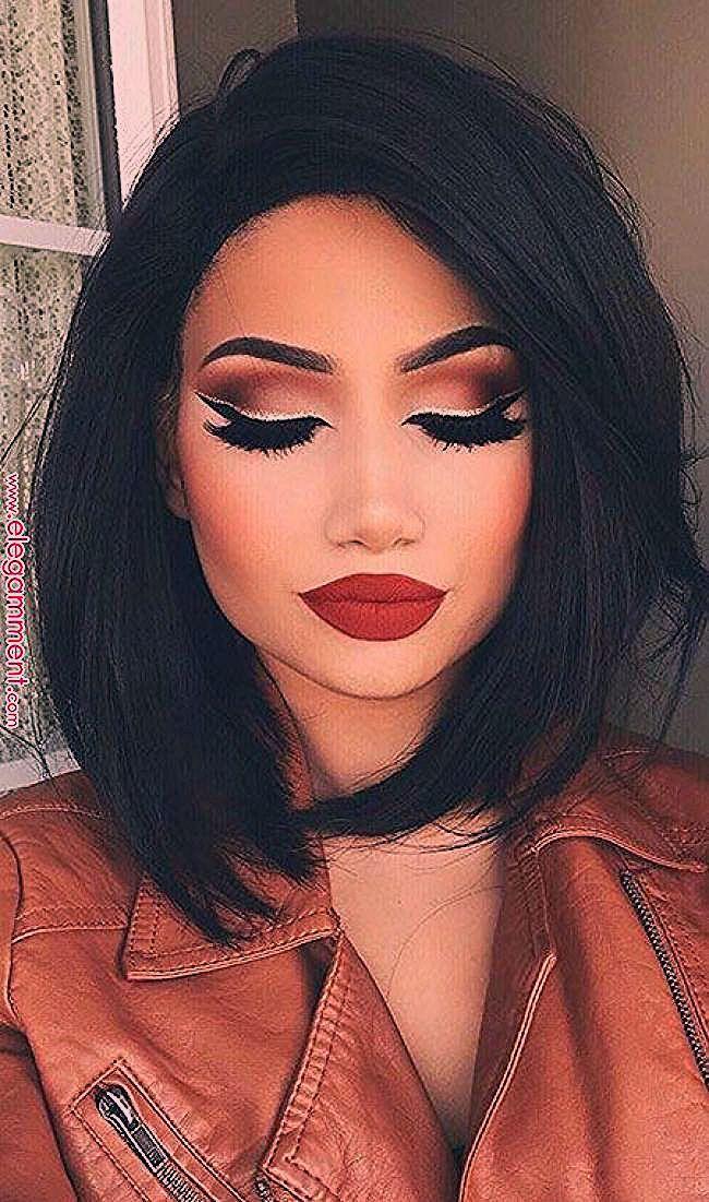 Photo of Makeup Lips Up 50 Haarschnitt im Jahr 2019 Pinterest makeu