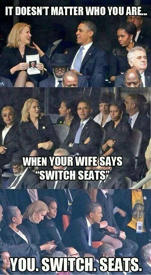 Don't argue with that face haha. Wife wins
