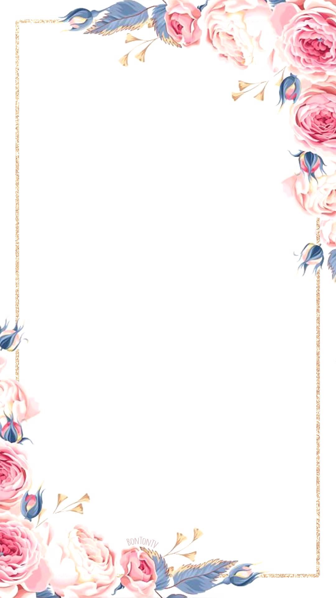 Phone Wallpapers Hd Watercolor Gold Flowers By Bonton Tv Free