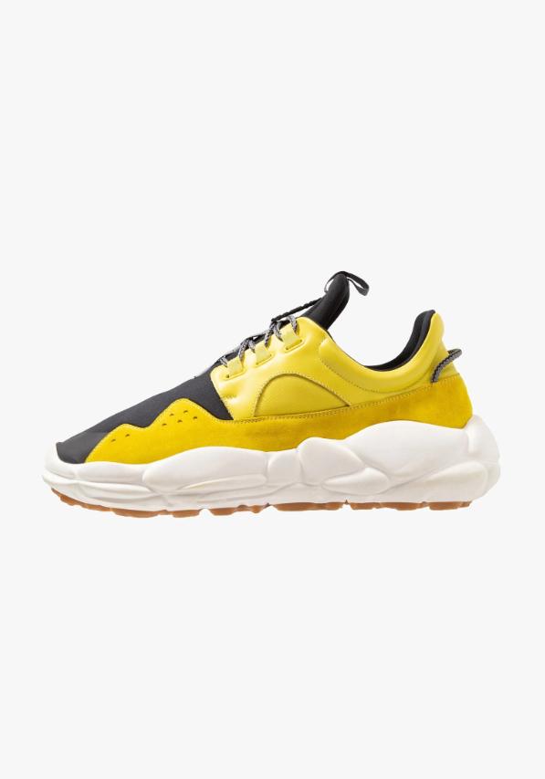 timeless design ecdd8 d85c1 Sneakers basse - white/yellow @ Zalando.it 🛒 | Streetstyle ...