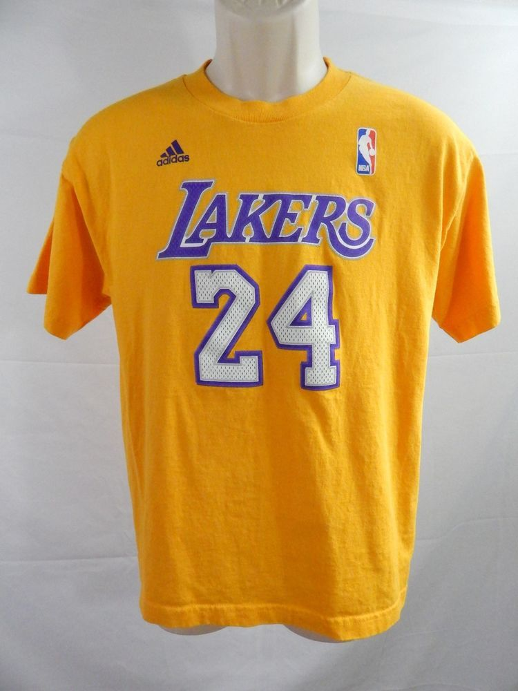la lakers adidas t shirt