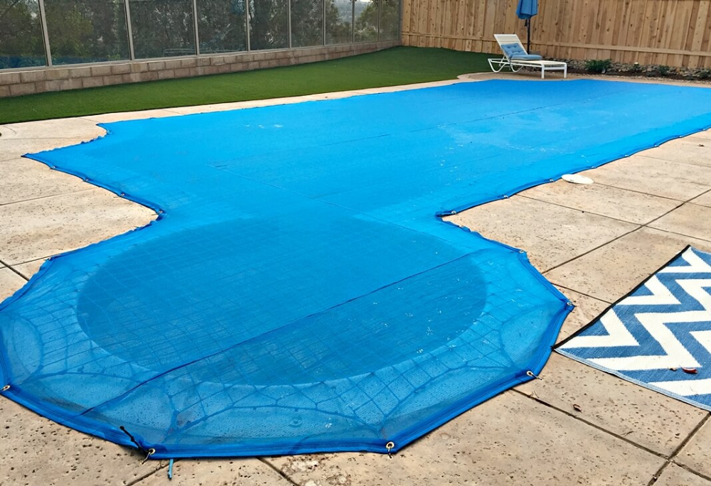 Pool Safety Net Combination Pool Leaf Cover Katchakid Pool Safety Pool Safety Net Pool Nets