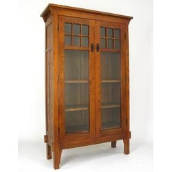 Mission Style Curio Cabinet Thefind Mission Style Furniture Glass Cabinet Doors Barrister Bookcase