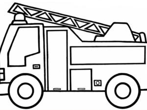 Camion De Sam Le Pompier Et Muret Coloriage Camion Pompier