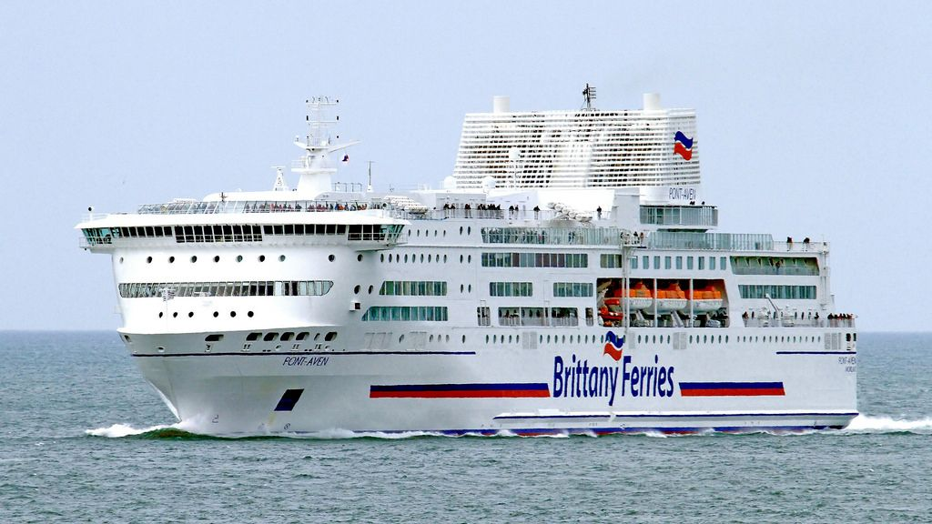 Pont Aven In 2020 Brittany Ferries Ferry Boat Merchant Navy
