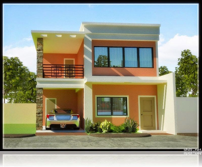 Thoughtskoto 33 Beautiful 2 Storey House Photos 2 Storey House Design Philippines House Design Simple House Design