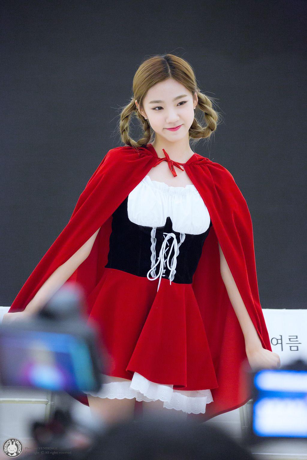 WJSN - Yeoreum #여름 (Lee Jinsook #이진숙) at 'Would you like girls' fanmeeting 160602 Mnet #우주소녀 #우주LIKE소녀 팬 간담회
