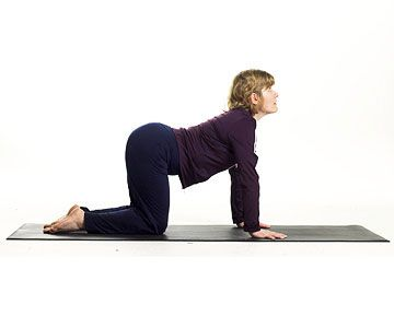 5 great yoga stretches for gardeners  cow pose workout